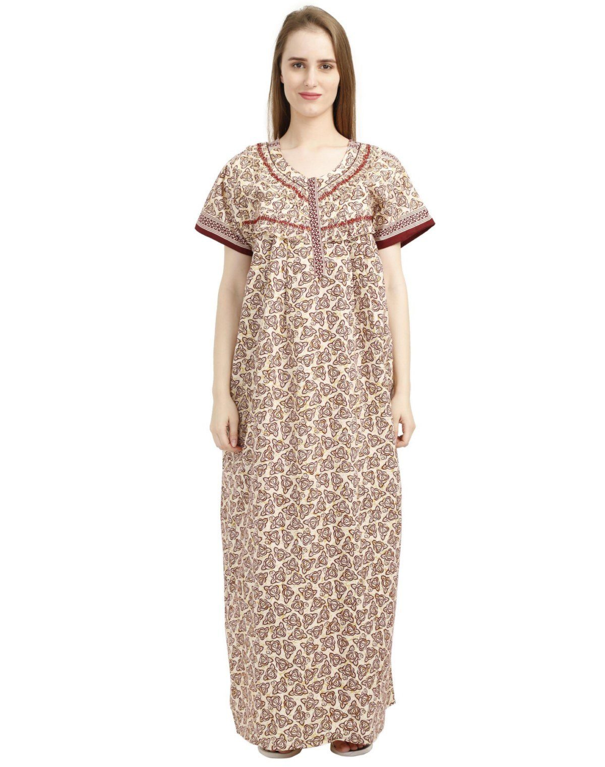 723a78e5380 Maternity Feeding Nighties   Nursing Nightwear Online India - Nighty ...