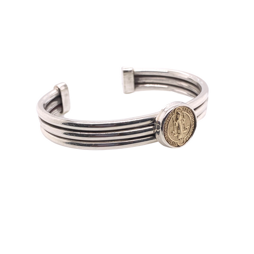 La Reyna Saint Tri Bangle