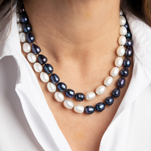 Tahitian + Freshwater Pearl Necklace