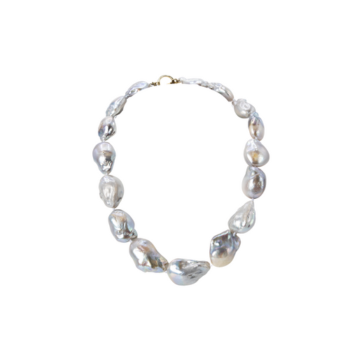 Gray Akoya Pearl Necklace