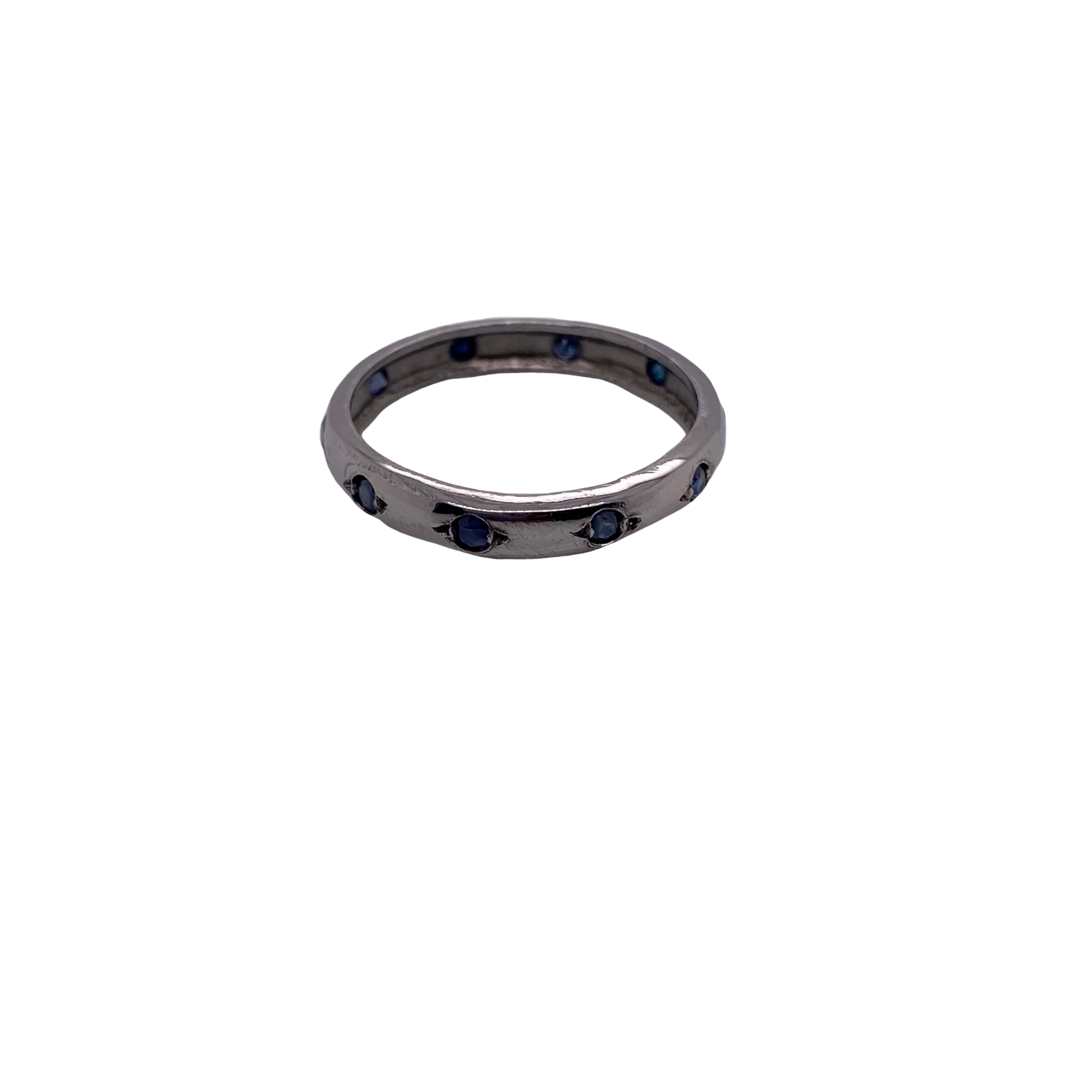 Sapphire Stackable Ring - Karlas Jewelry & Gifts