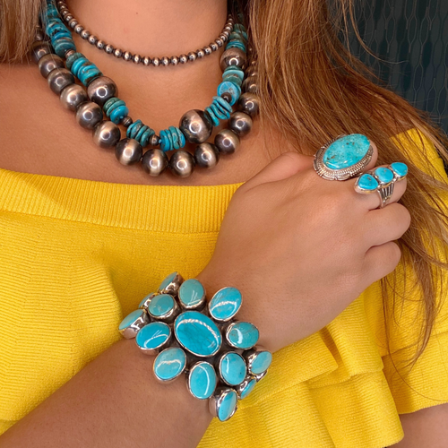 Federico Turquoise Cuff