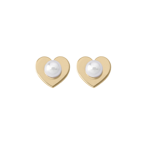 Majorica Classic Pink Pearl Stud Earrings