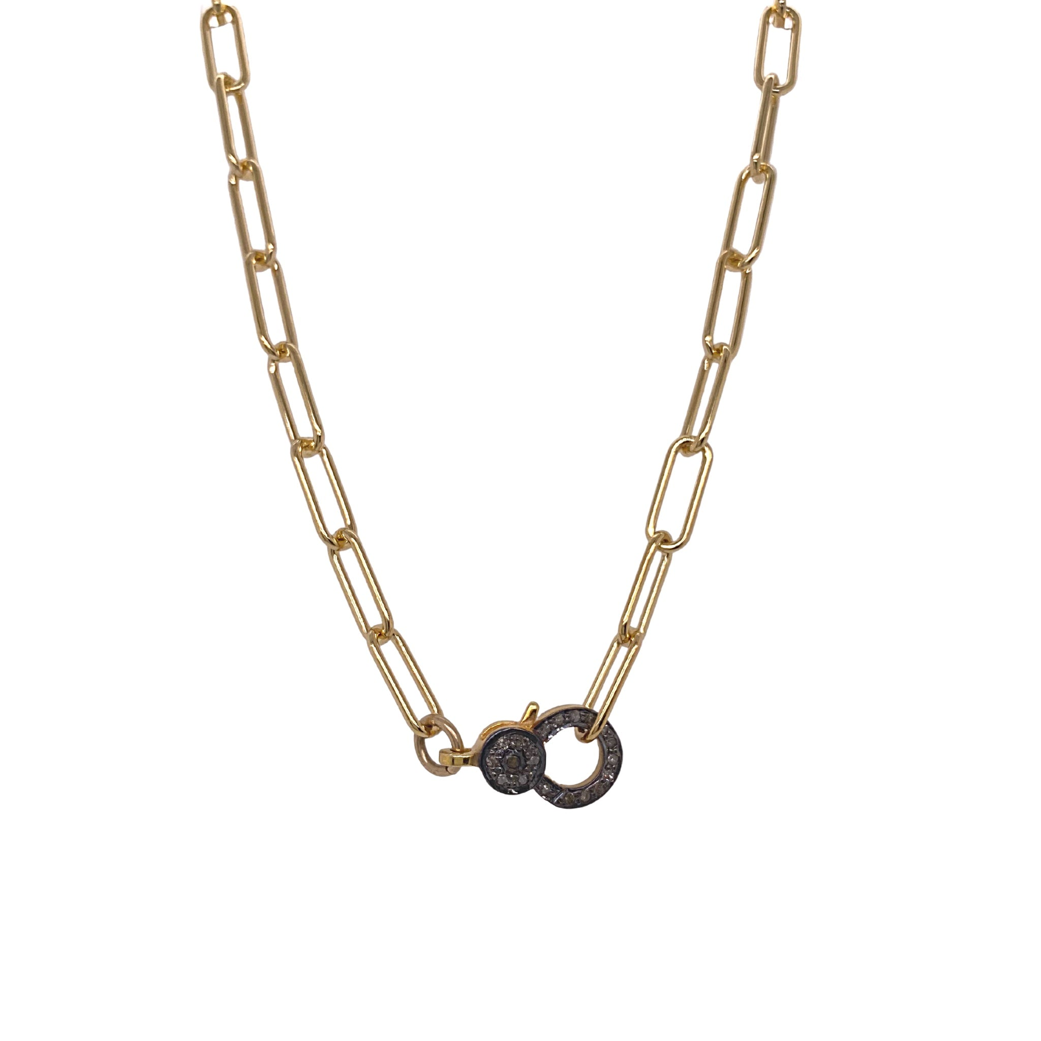 Tye Lock Necklace