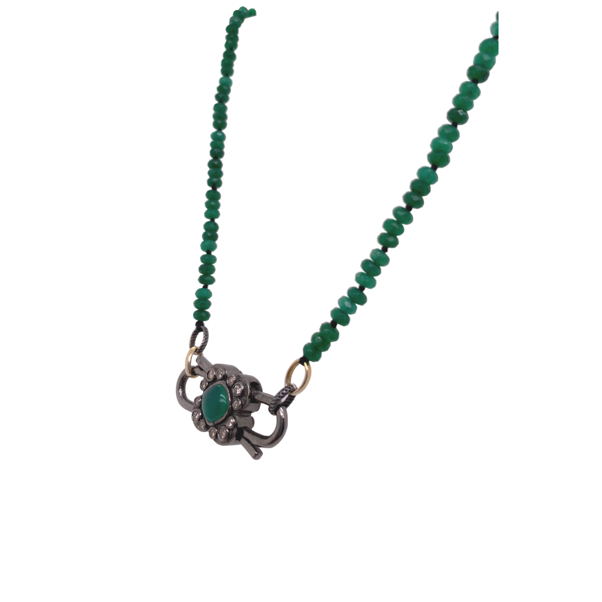 Luxe Green Jade Necklace