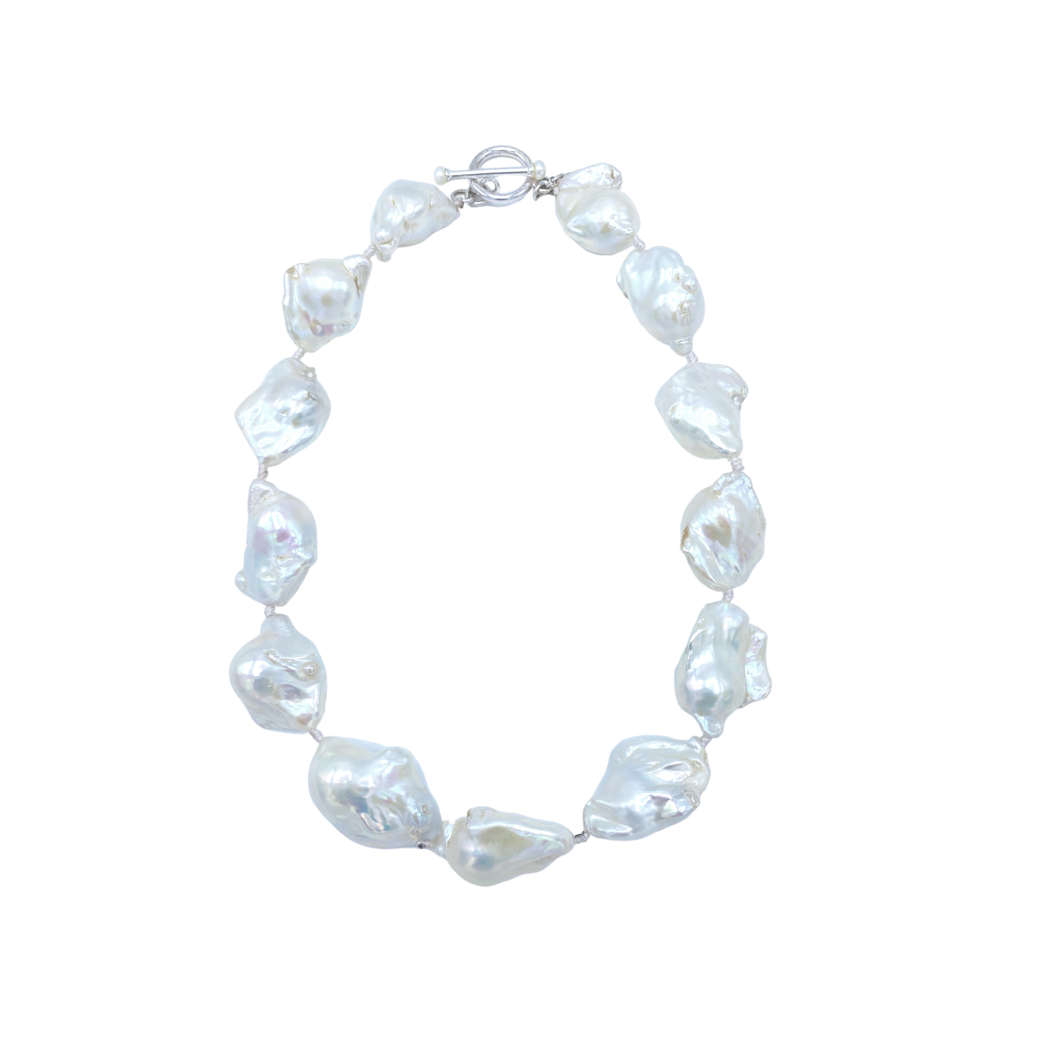 White Akoya Pearl Necklace