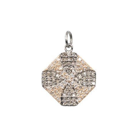 Eye Rays Diamond Pendant