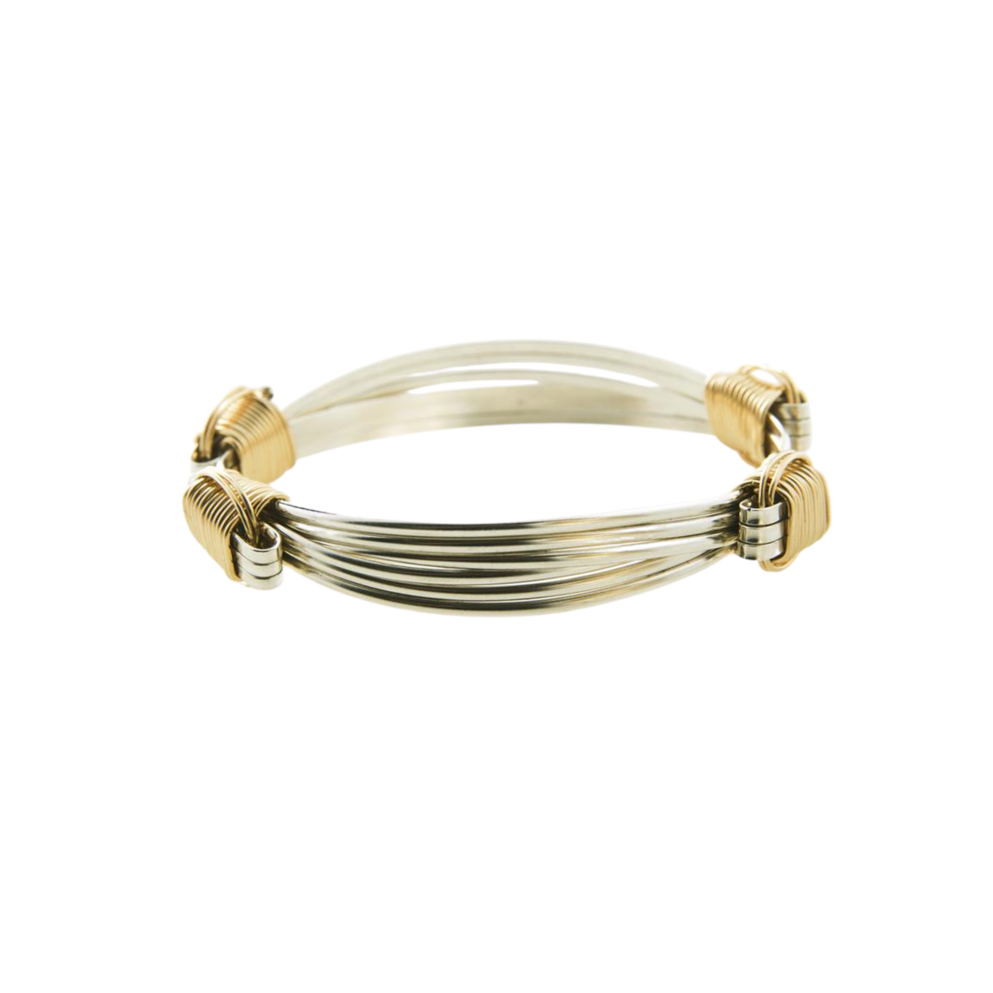 Classic Two Tone Elephant Hair Bracelet