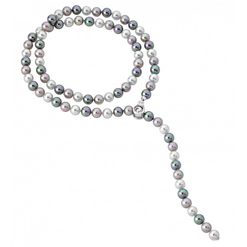 Lyra Multi Pearl Necklace