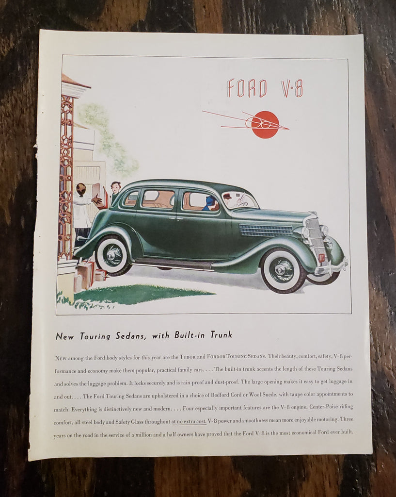 1935 Ford Magazine Ad