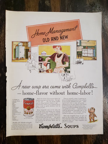 1935 Campbell's Soup Magazine Ad