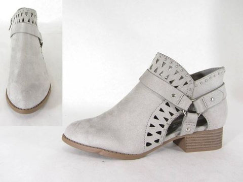 Ankle Bootie- LIGHT SMOKE