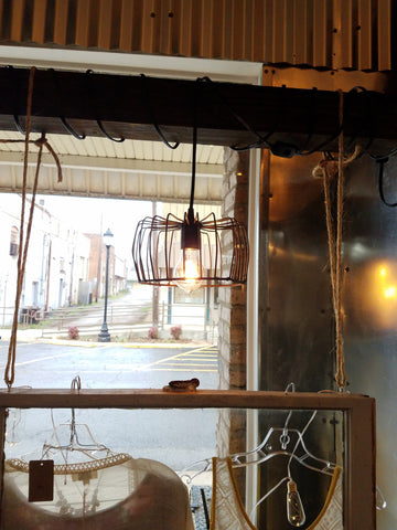 Industrial Pendant Light - small