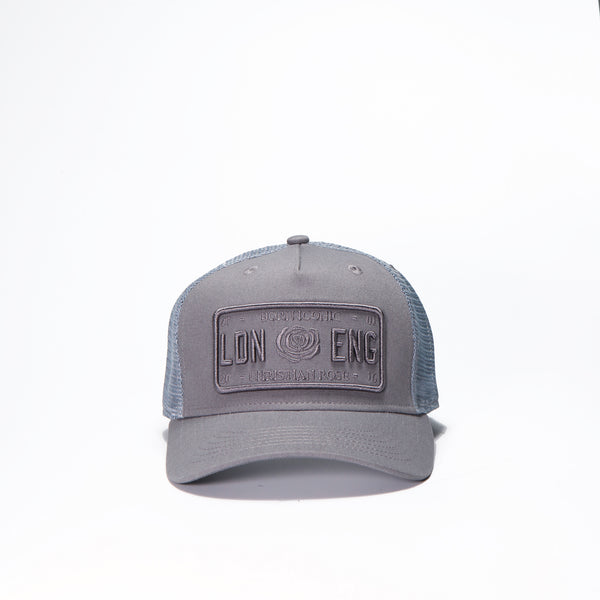 Grey Kids Trucker Cap