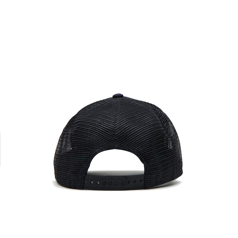 Navy / Black Patch Trucker Cap