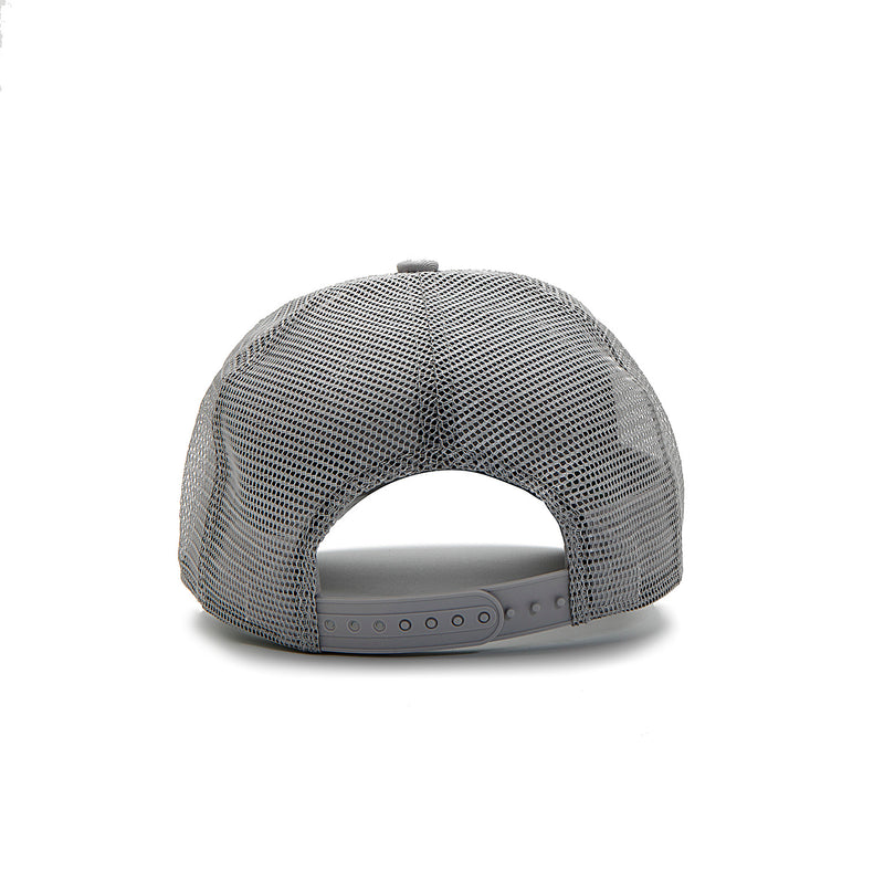 Stone Grey / Gold Trucker Cap