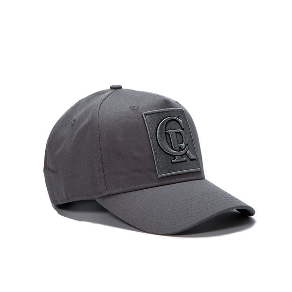 Grey / Black Cap