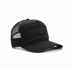 Black/Black Trucker Cap