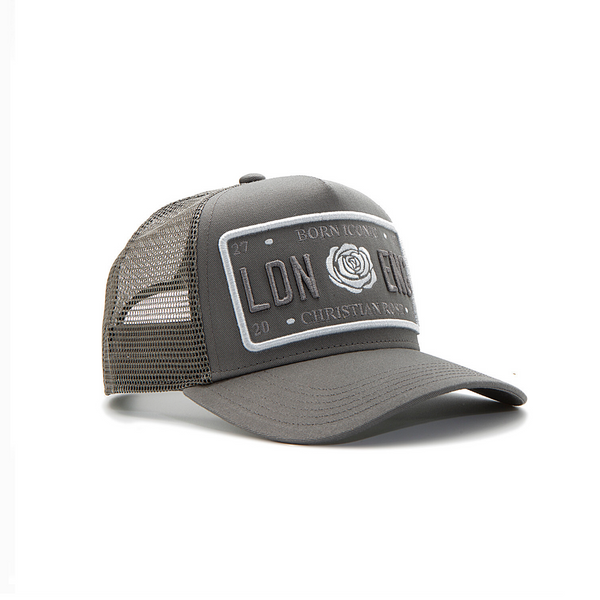 Grey Trucker Cap