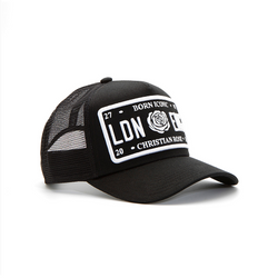 Black / White Trucker Cap