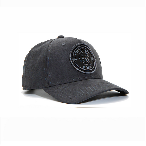 Grey Suede Trucker Cap