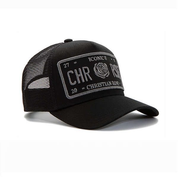 Black / Grey Trucker Cap