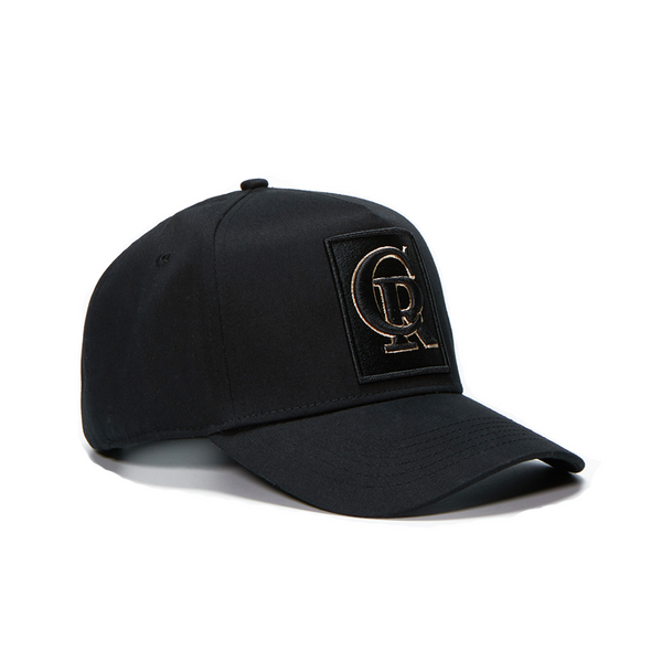 Black / Gold Cap