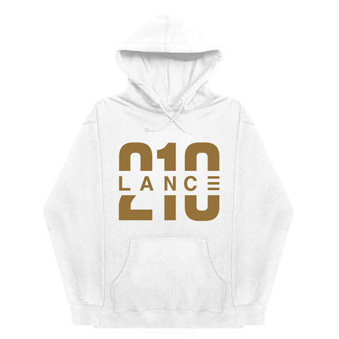 210 White Youth Hoodie