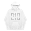 210 Hoodie (White/Silver)