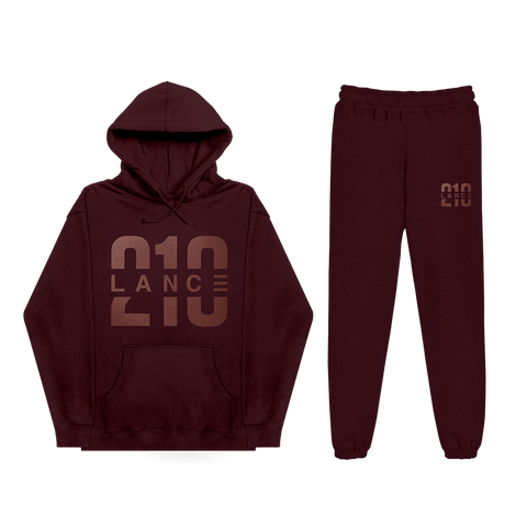 210 Maroon Sweatsuit Bundle