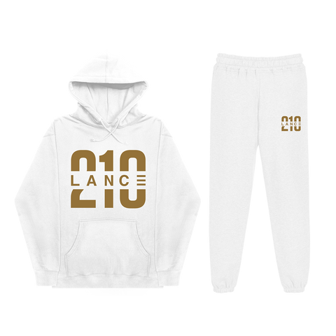210 White Sweatsuit Bundle