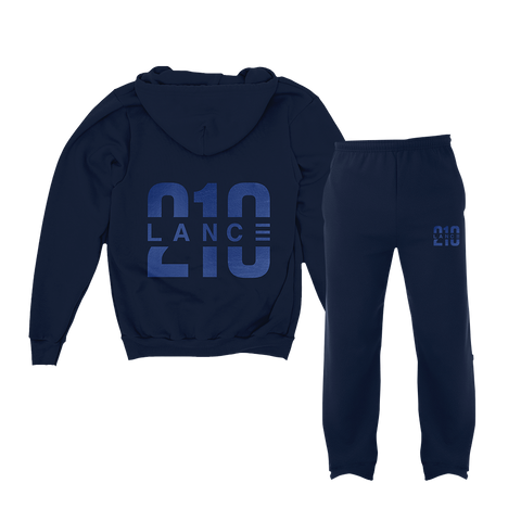 210 Navy Sweatsuit Bundle