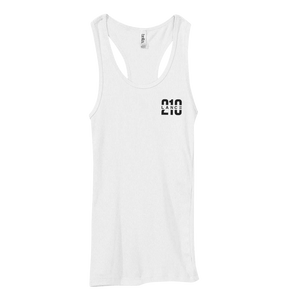 210 Ribbed Tank Top (White)  Lance Stewart Official Lance210 Merch Store - Shop T-shirts, beanies, snapbacks, pop sockets, hoodies and more! As Seen On YouTube, Vine, Instagram, Facebook and Twitter