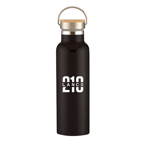 210 Water Bottle (Black)