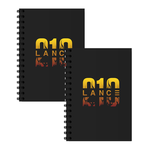 Flame Notebook Set
