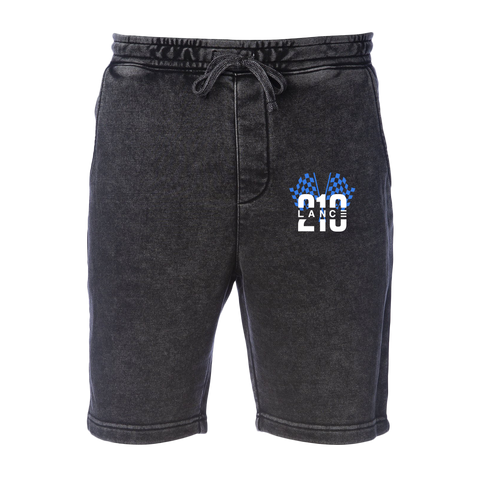 210 Racing Flag Shorts (Mineral Wash)