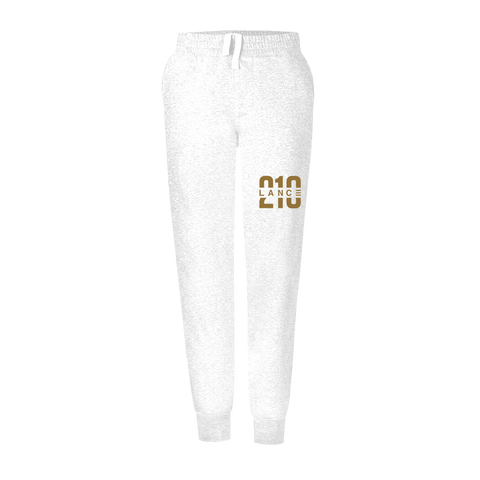 210 White Youth Sweatpants  Lance Stewart Official Lance210 Merch Store - Shop T-shirts, beanies, snapbacks, pop sockets, hoodies and more! As Seen On YouTube, Vine, Instagram, Facebook and Twitter