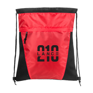 210 Drawstring Bag (Red)