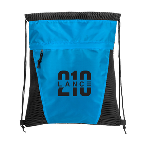 210 Drawstring Bag (Blue)