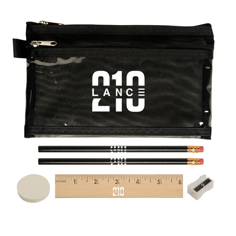 210 Pencil Case (Black)