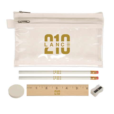 210 Pencil Case (White)