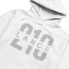 210 Hoodie (White/Silver)  Lance Stewart Official Lance210 Merch Store - Shop T-shirts, beanies, snapbacks, pop sockets, hoodies and more! As Seen On YouTube, Vine, Instagram, Facebook and Twitter