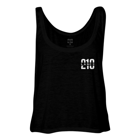 210 Women's Tank top (Black)