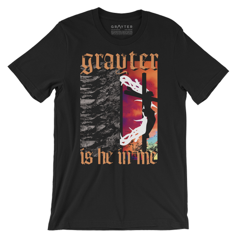 """Grayter Is He In Me"" T-Shirt (Black)"