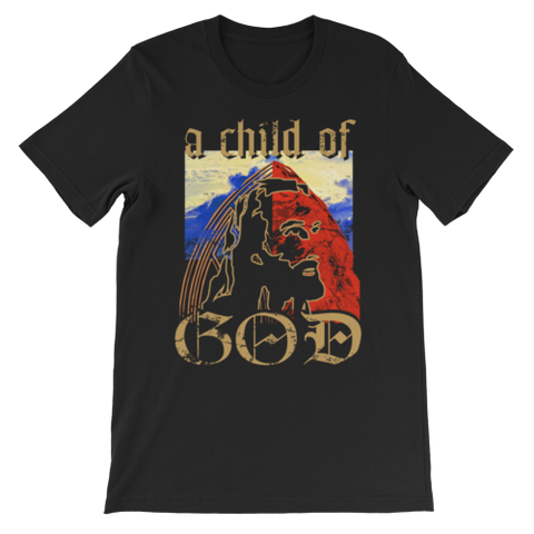 """a child of God"" T-Shirt (Black)"