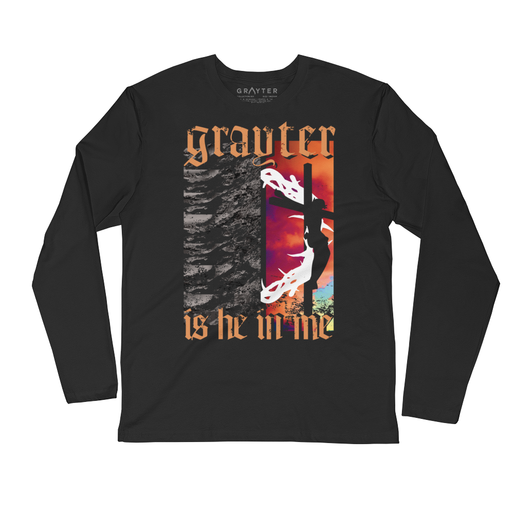 Grayter Is He In Me Long-Sleeved Shirt