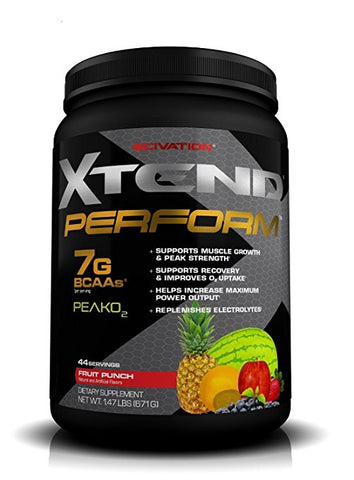 Xtend Perform BCAAs + Peak O2