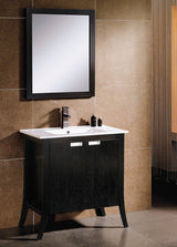 "24"" All Wood Espresso Vanity"