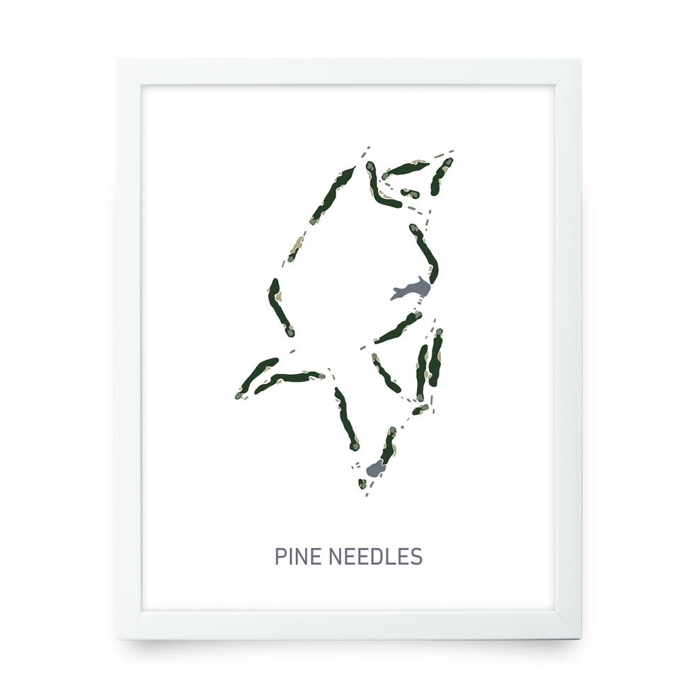 Pine Needles (White)
