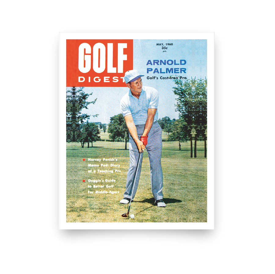 Arnold Palmer Golf Digest Cover Print